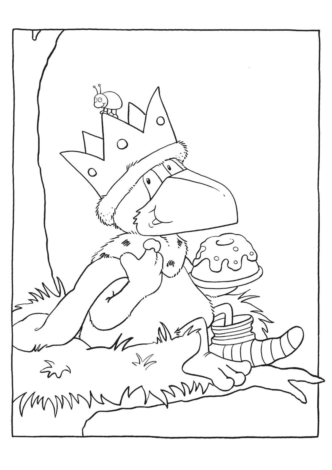 Das Riesen Malbuch Vom Kleinen Raben Socke Der Kleine Rabe Socke Amazon De Rudolph Annet Bucher