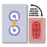 Jumbo Playing Cards by Aidapt