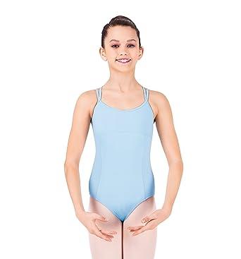 4d6db7a31 Amazon.com: Bloch Girl's Couru Seamed Double Strap Cami Leotard: Clothing