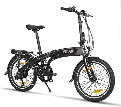 fitifito FD20 S de bicicleta plegable 20 pulgadas con Gratis ...