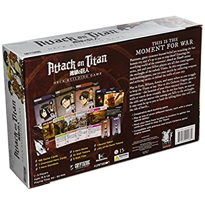 Attack On Titan Deck Building Card Game: Toys & Games