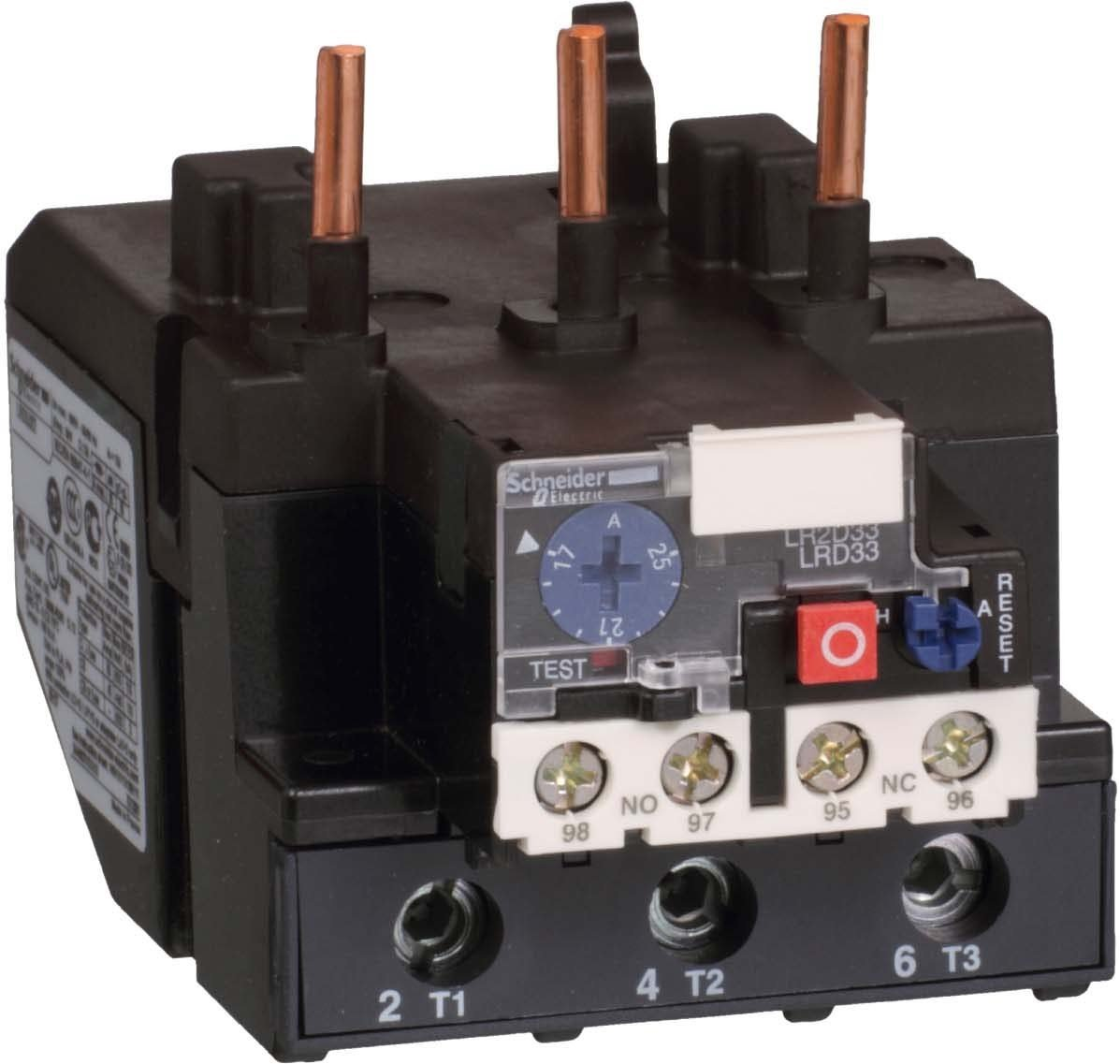 Schneider Electric LRD3359 Relay 48-65A, Overload Relay 48 To 65A