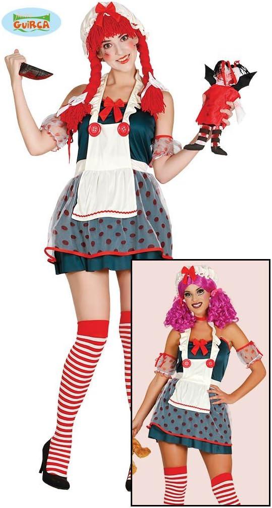 Guirca 84467 - Rag Doll Adulta Talla M 38-40: Amazon.es: Juguetes ...