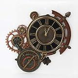 Veronese Design Mechanical Steampunk Astrolabe Star Tracker Wall Clock 17 Inch
