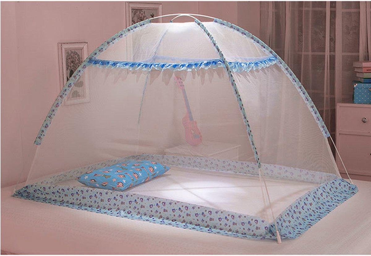 Himmelbett,Blau,43.3 31.49 Butterme Baby Kind Kinderbett Krippe Canopy Insektenschutz M/ückennetz Moskitonetz Moskitozelt Hauses spielen f/ür Kinderbetten