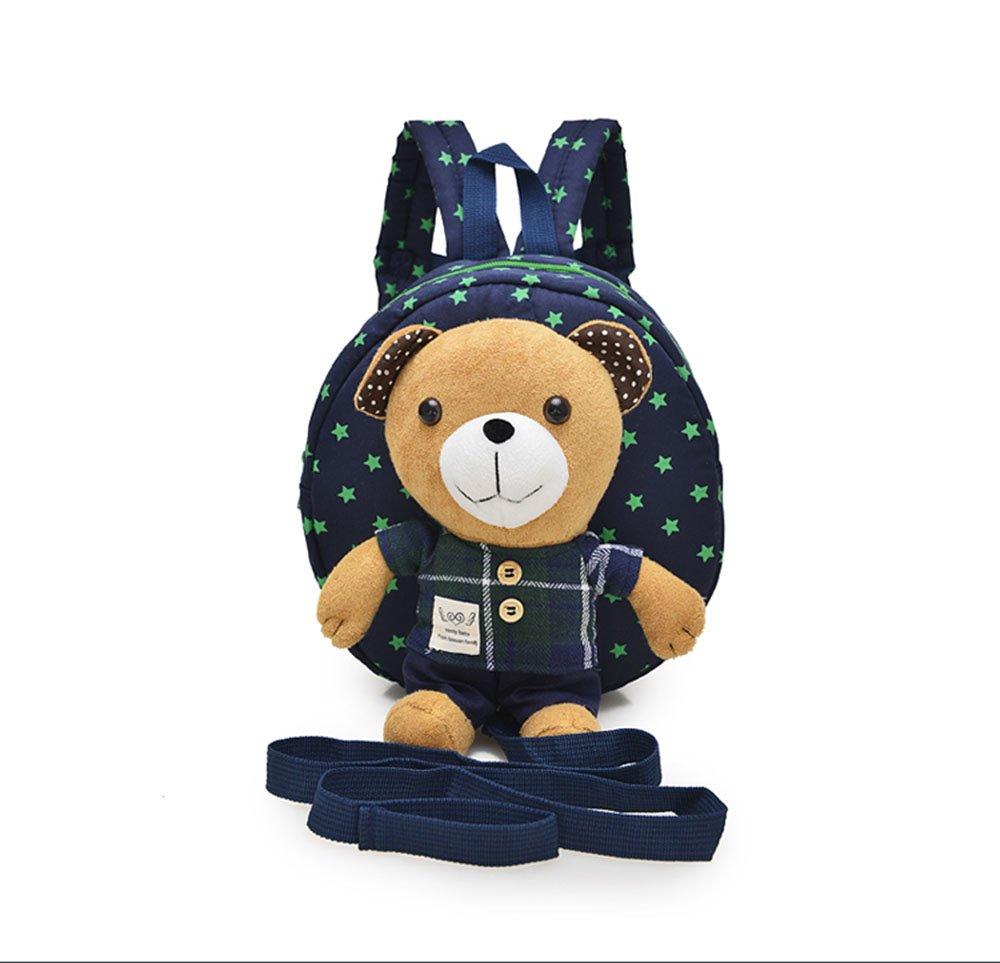 Sep Star, Kleinkind-/Baby-Rucksack mit Sicherheitsgurt, mit abnehmbarem Teddybä r 9STAR-BEARBAG