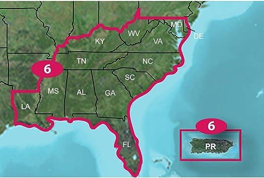 Garmin Topo Map US 24K Southeast, SD/MSD: Amazon.es: Electrónica