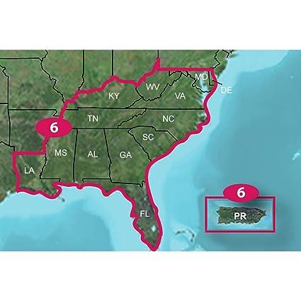Amazoncom Garmin TOPO US 24K Southeast MicroSDSD Sports - Buy Us Topo24k Garmin Maps