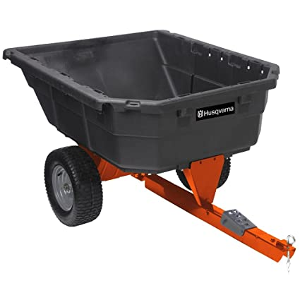 Amazon.com: Husqvarna Poly Dump carro de giro, 12,5 pies ...