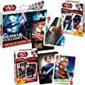 Trademark Stars Wars/Clone Wars Heroes and Villians Poker Playing Card (Multi)