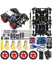 UNIROI Arduino UNO Projekt intelligente Roboter Car Kit, Keine Schweißen erforderlich, einfach zu montieren