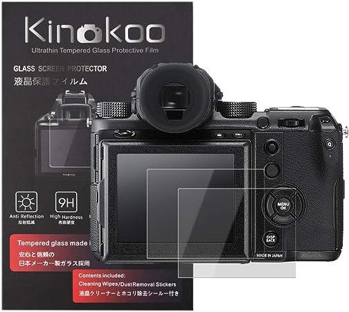 Kinokoo Gehärtetes Glas Für Fuji Gfx 50s Gfx 50r Kamera