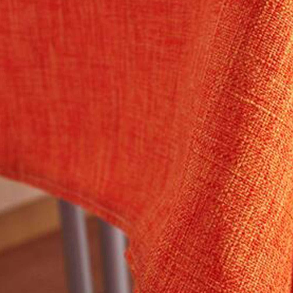 Tavolo da Pranzo Tovaglia Tinta Unita Cotone Polvere Polvere-Prova Ristorante Giardino Hotel Tovaglie Ristorante-a 70x70cm 28x28inch qwert Tovaglia Rettangolare