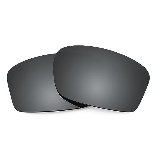 4834b66861903 Revant Polarized Replacement Lenses for Oakley Chainlink Elite Black Chrome  MirrorShield