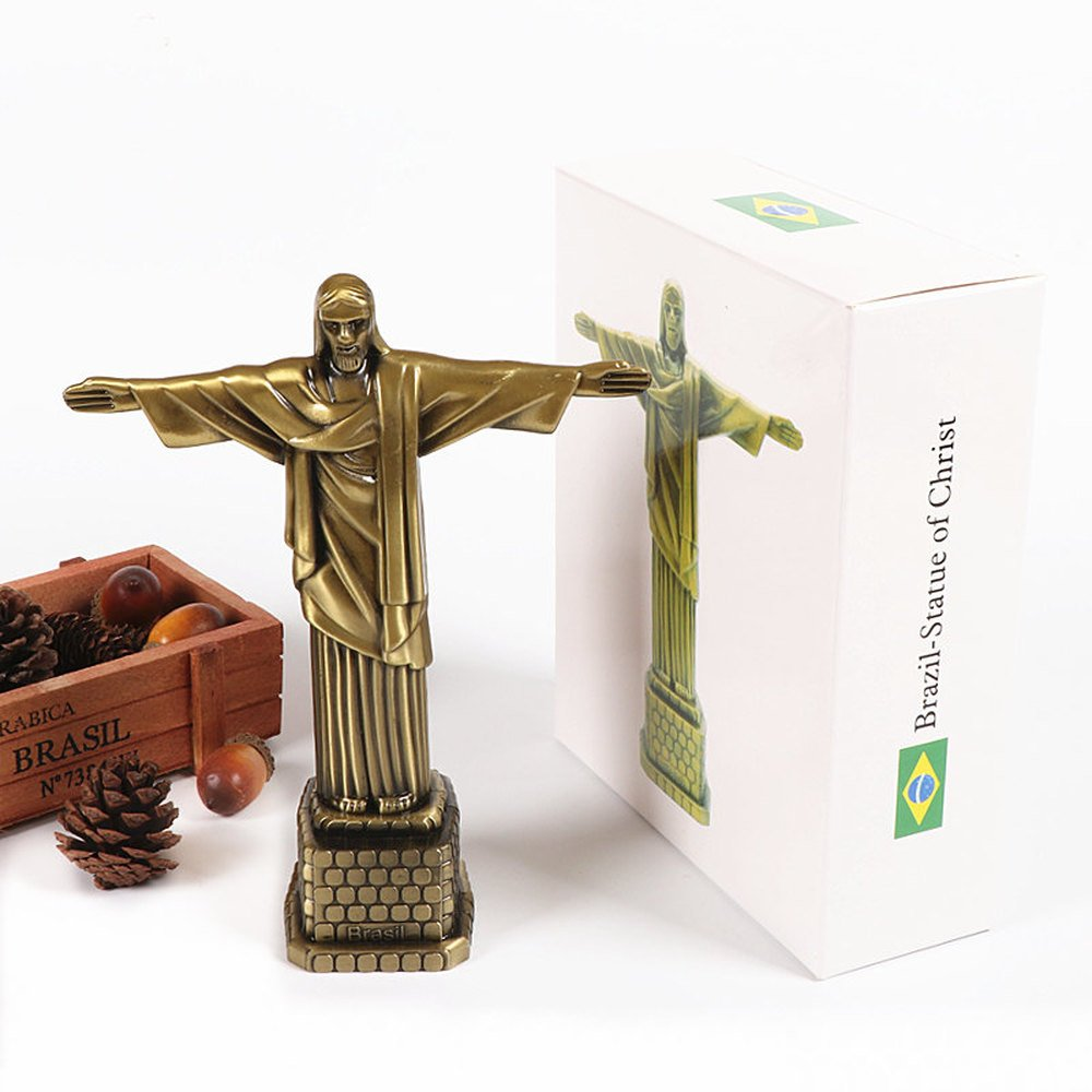BWLZSP Jesus Statue Decoration Living Room Christian Cross Sculpture Memorial Gift Gift Bible Icon Jewelry Home Furnishing WL5171122