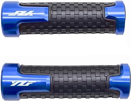 22mm 7 8 Motorrad Lenkergriffe Griff Griffgummis Für Yamaha Yzf R1 R3 R6 R6s R25 R125 600r Blau Auto