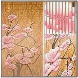 BeadedString Natural Bamboo Wood Beaded Curtain-90 Strands-78 (6.5 ft) High-Boho Door Beads-Bohemian Doorway Curtain-Blossom Review