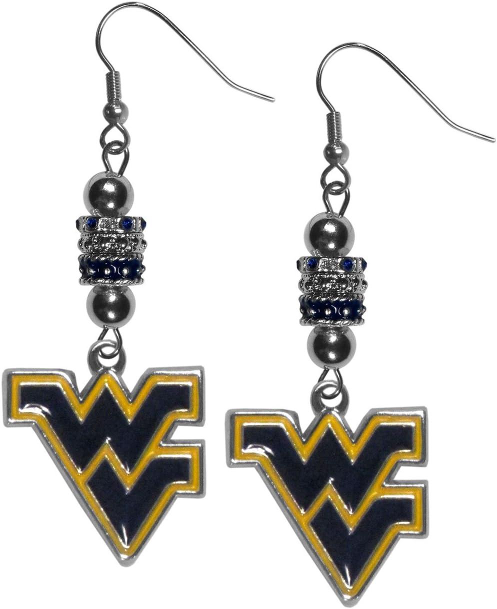 Siskiyou NCAA Womens Euro Bead Earrings