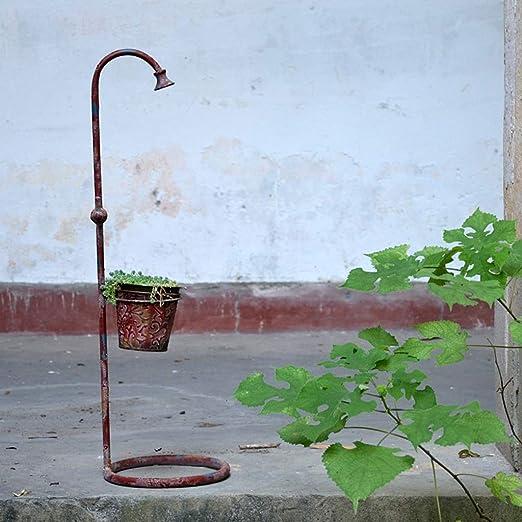 Recipientes para Plantas y Accesorios/Flower Pot Iron Faucet ...