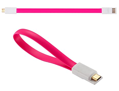 Ley® 0.2 m imán magnético Micro B a USB Sync Cable cargador de datos para Android Samsung Galaxy S2, S3, S4, S5, mini Note Sony, Acer, Asus, ...