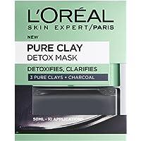 L'Oréal Paris Paris lermasker, 3 rena Clays och Red Algae Glow