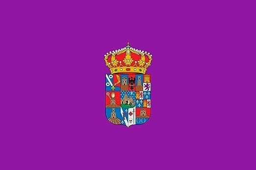 magFlags Bandera Large Guadalajara Province | Provincia de Guadalajara España De Color Morado | Bandera Paisaje | 1.35m² | 90x150cm: Amazon.es: Jardín