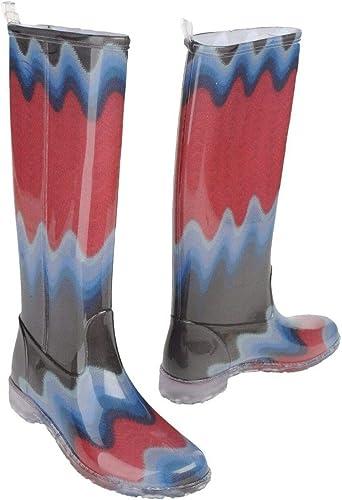 Multi Colored Rain Boots
