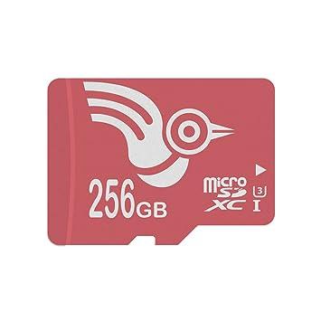 ADROITLARK Tarjeta Micro SD de 256 GB UHS-3 Tarjeta microSD para cámara/Tableta/Reloj Inteligente/teléfono/Dashcam/Go Pro / 4K UHD/dji ...