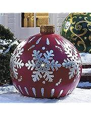 HUUMA Kerstbal voor buiten, kerstboomdecoratie, 63 cm
