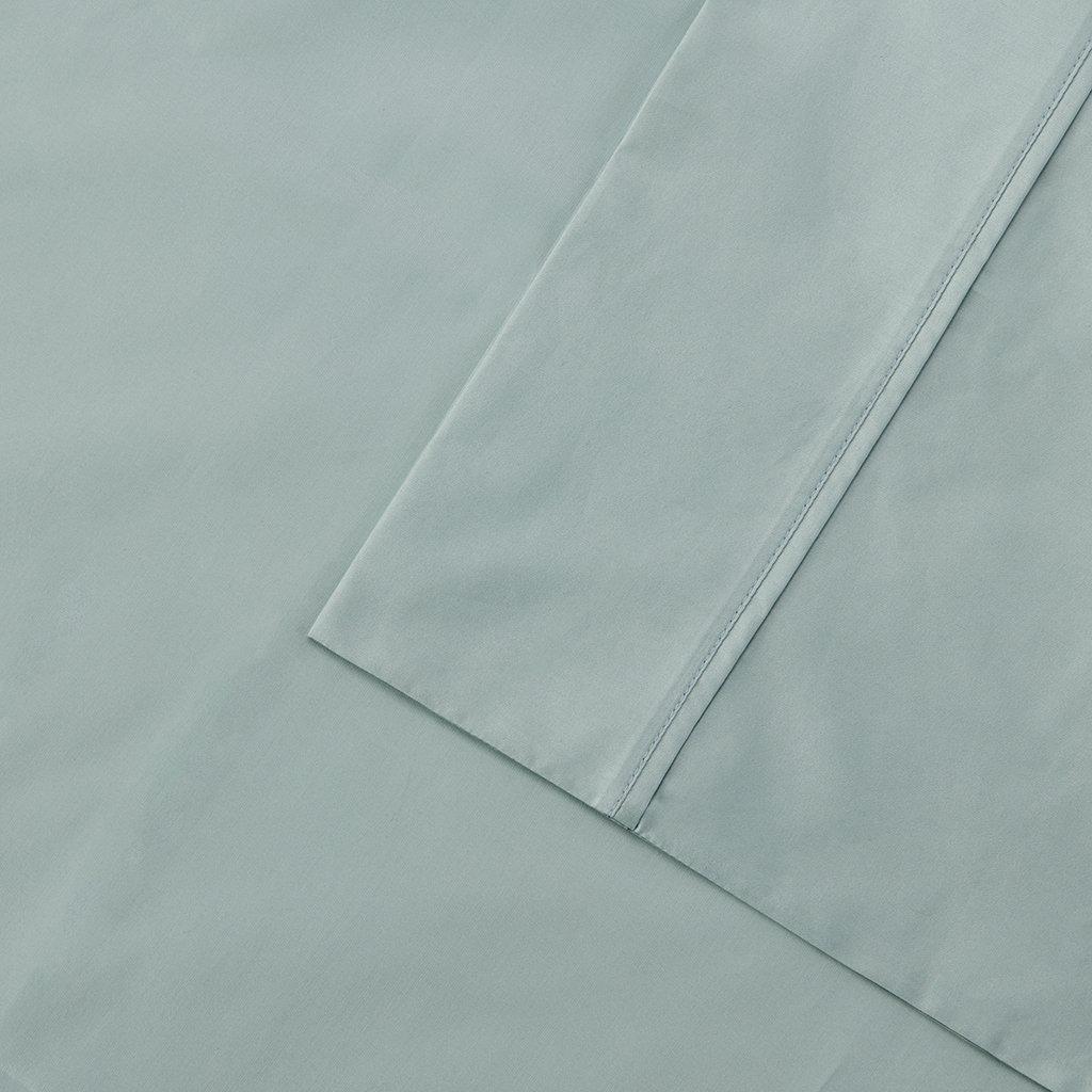 Madison Park 400TC Aloe Vera Cotton Sheet Set Ivory Queen MP20-4058