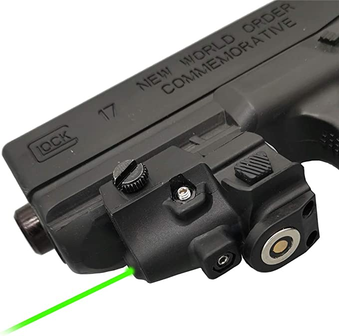 Details about  /Pinty Tactical Green Laser Sight f// Pistol/&Handgun Built-in Battery Rechargeable