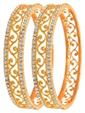 YouBella Gold Plated Bangles For Women And Girls (2.6)