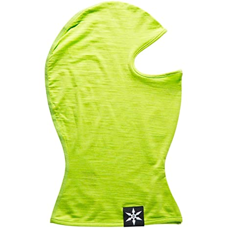 Airblaster Merino Ninja Face hot green: Amazon.es: Deportes ...