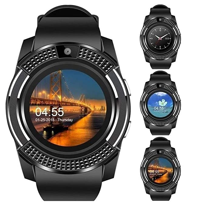 JLFDHR Reloj Inteligente Bluetooth Reloj Inteligente ...