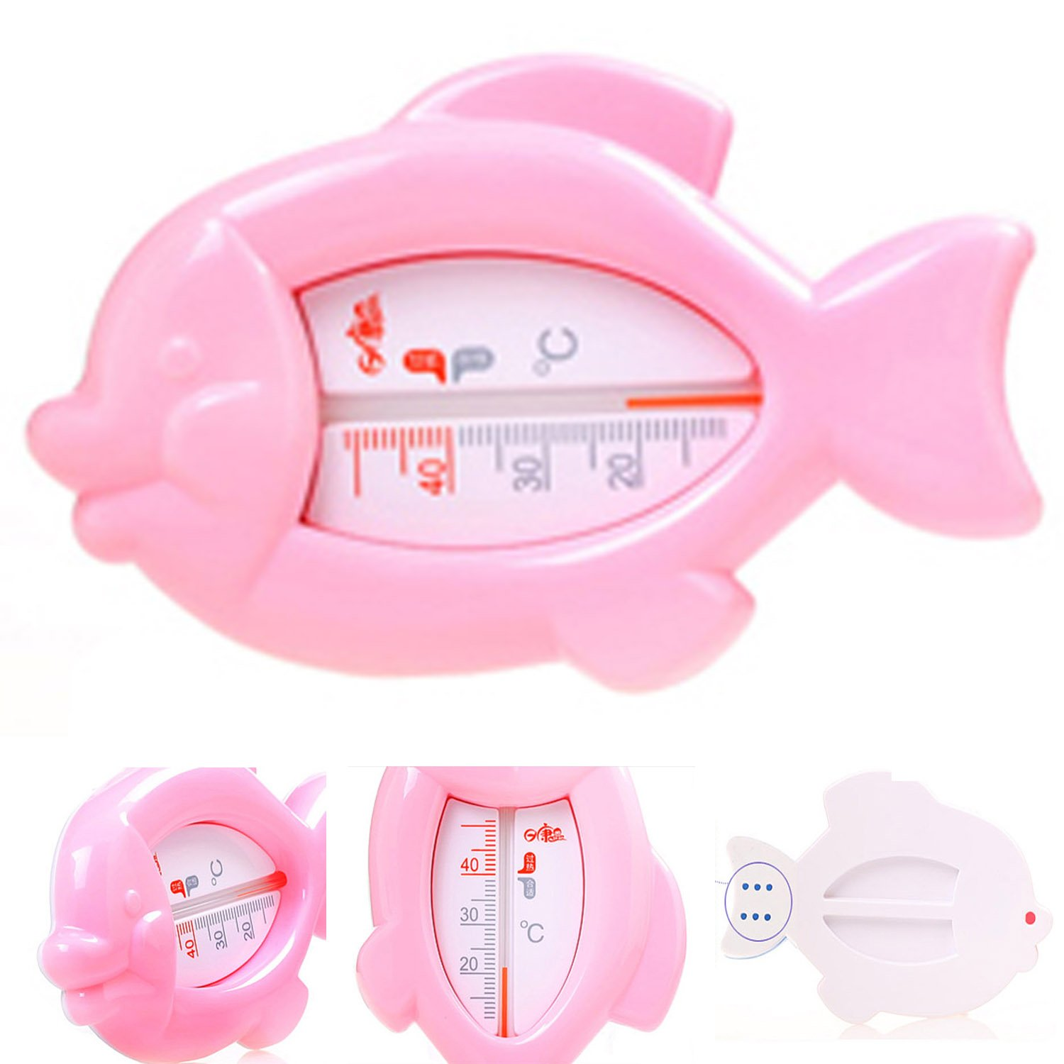 LSQtronics baby fish bath thermometers/indoor thermometer, RK3642(pink)