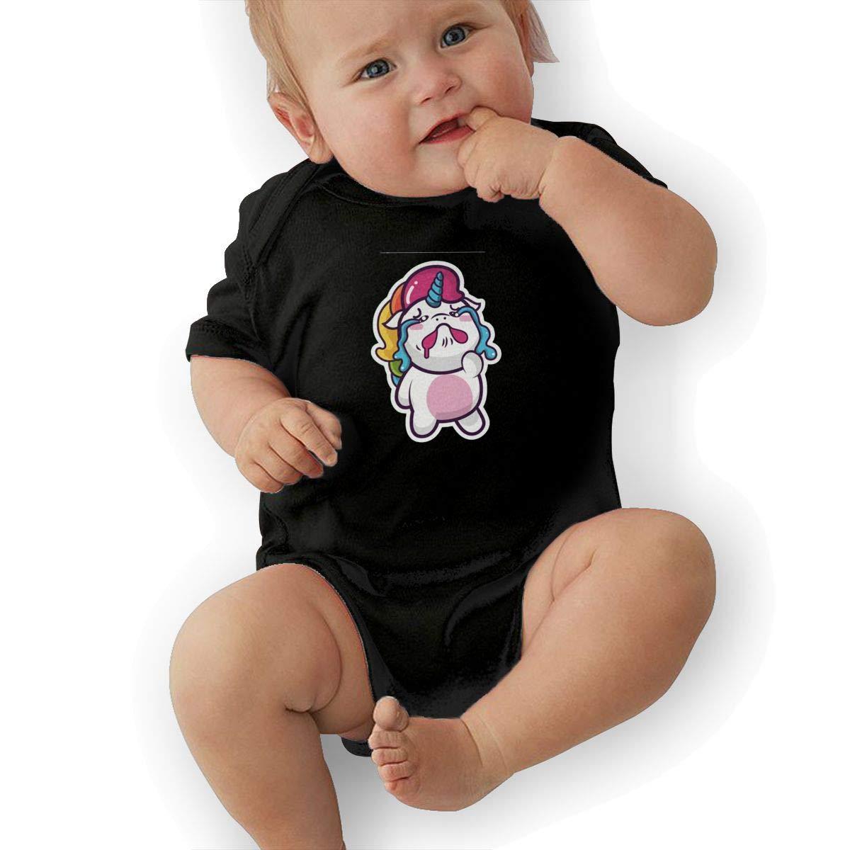 White Leaf Casual Newborn Baby Short Sleeve Bodysuit Romper Infant Summer Clothing