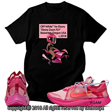 c969d88fbef15 Custom T Shirt Matching Style of Zoom Fly SP Tulip Pink ZF 1-3-4 at Amazon  Men s Clothing store