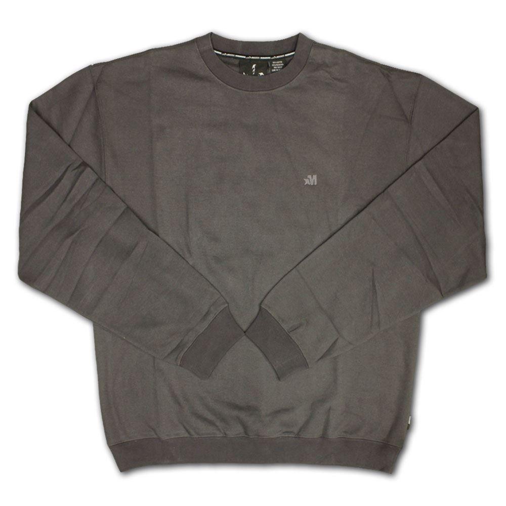 Mecca Usa Mad Max Sweatshirt Grau