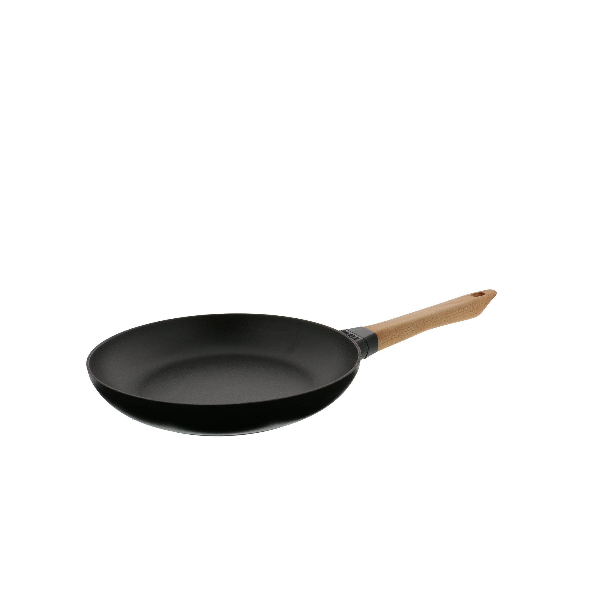 Staub 12242623 Cast Iron Fry Pan, 10-inch, Black Matte