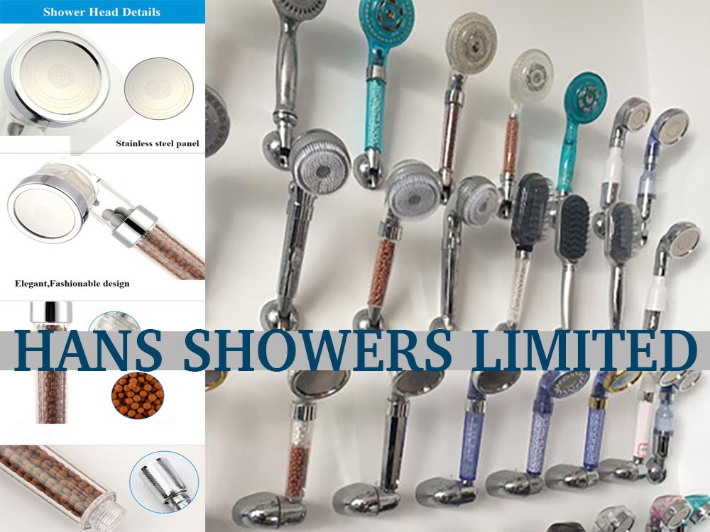 Ionic Shower Head - Autumn/Winter Sale Now ON - Super High Pressure with 3 Spray Modes Including Spa Massage and Rainfall Hans Showers