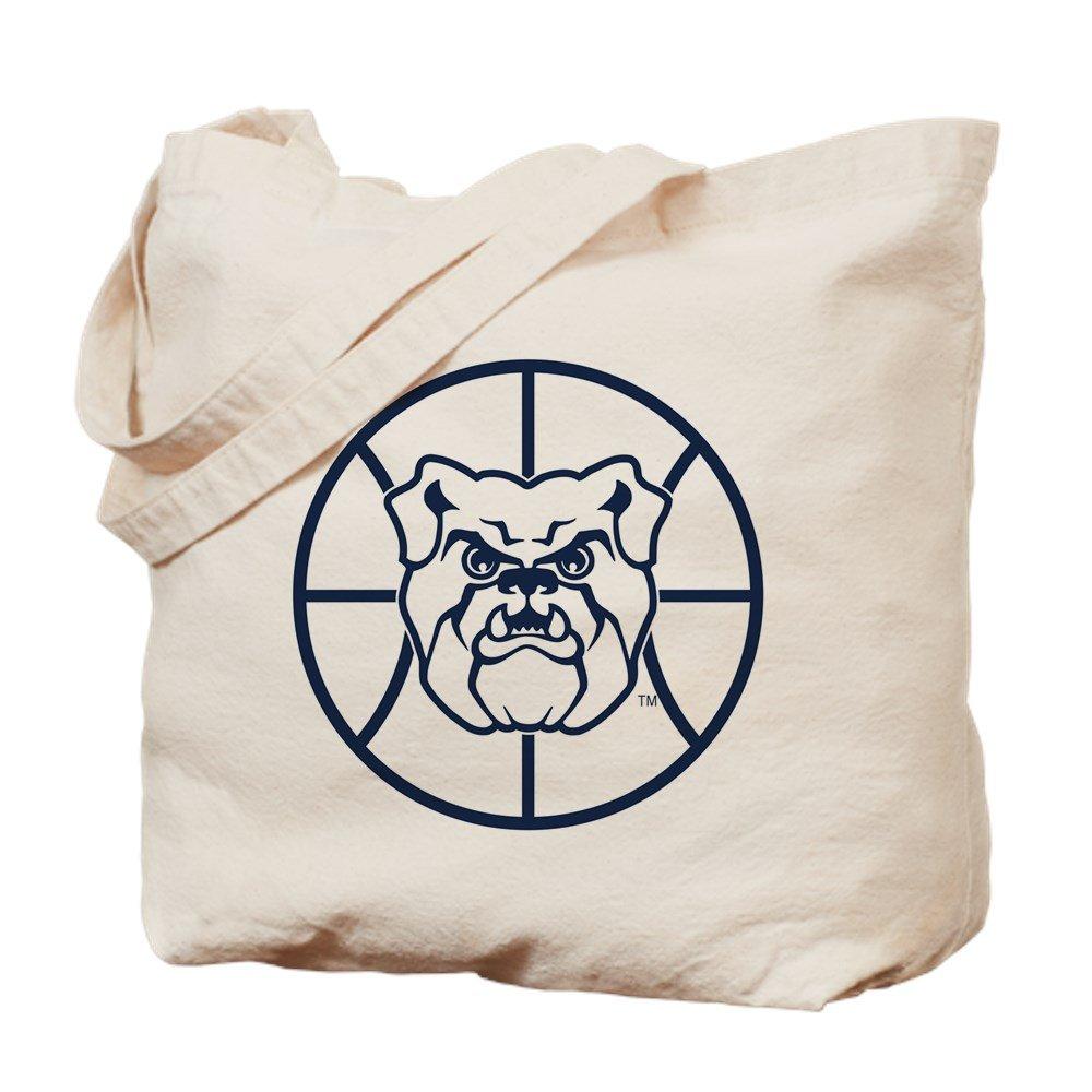 CafePress – Butler Bulldogsバスケットボール – ナチュラルキャンバストートバッグ、布ショッピングバッグ M ベージュ 0155671552E9484 B07B8SV6XK M