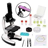 Scientoy kids Microscope with 100X-600X-1200X, 45