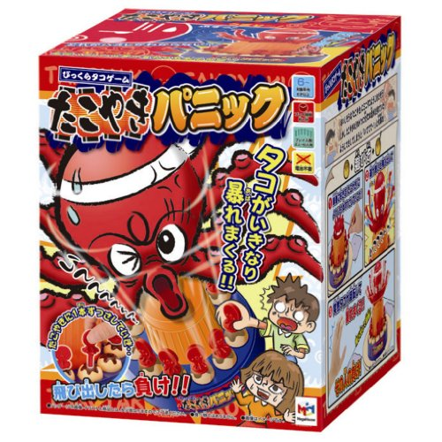 Takoyaki octopus game panic Bikkura (japan import)