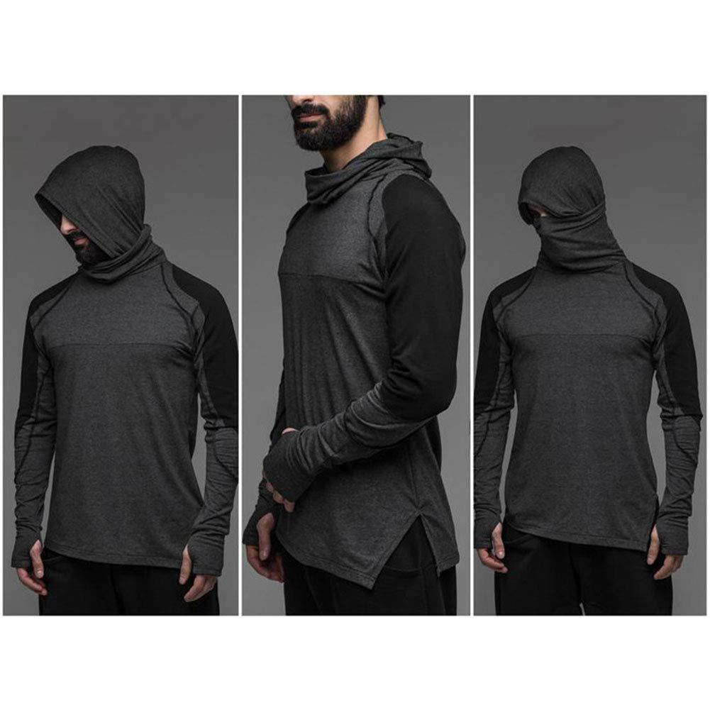 Hommes Hoodies Sweats Sweat-shirt à Capuche Fitness Gym Manteau Sport Tops Bodybuilding
