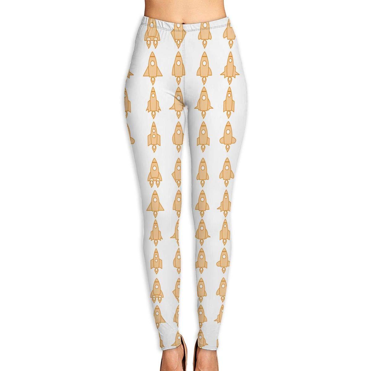 Amazon.com: Womens Rocket Icon Set High Waist Skinny Yoga ...