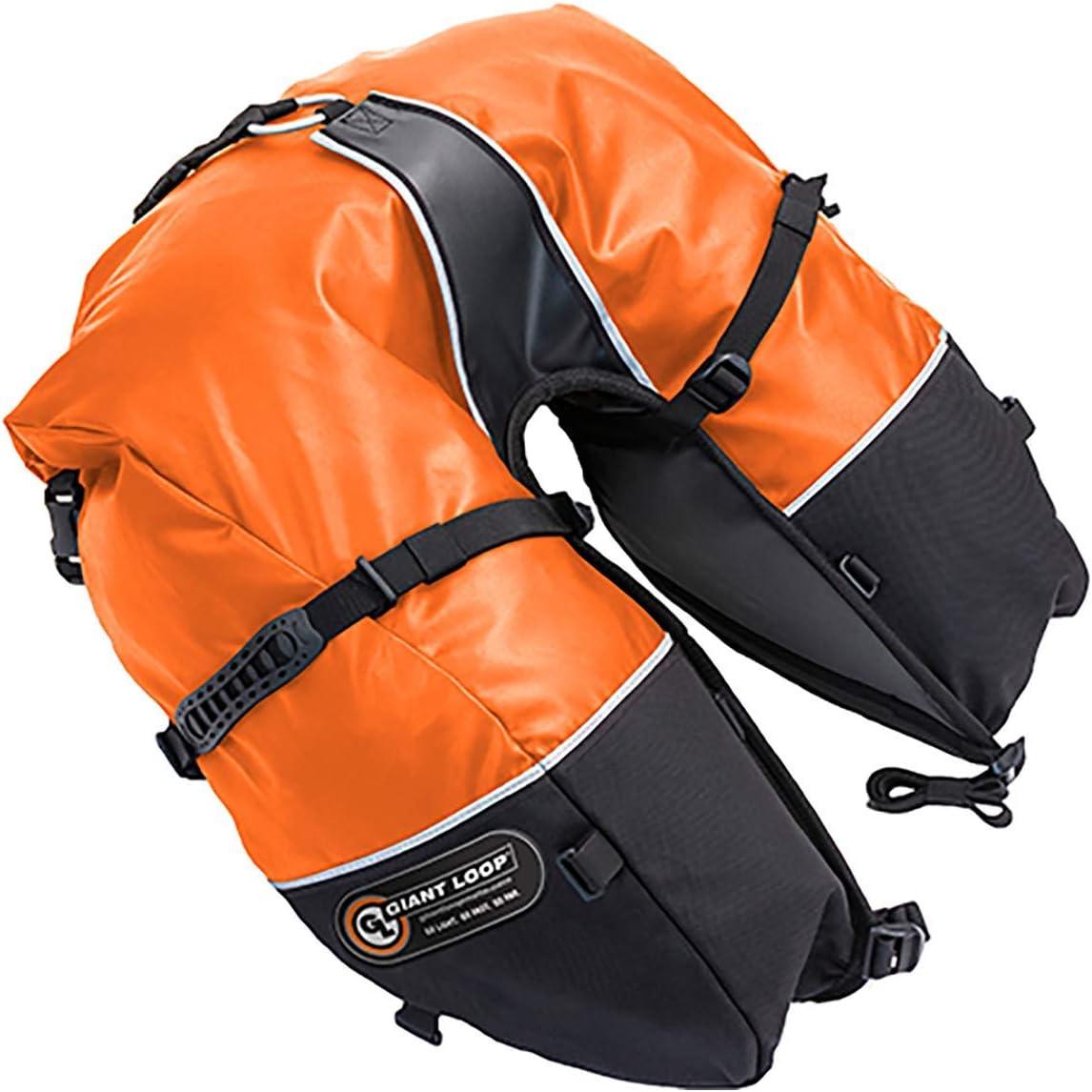 Orange Giant Loop Coyote Saddlebag Roll Top