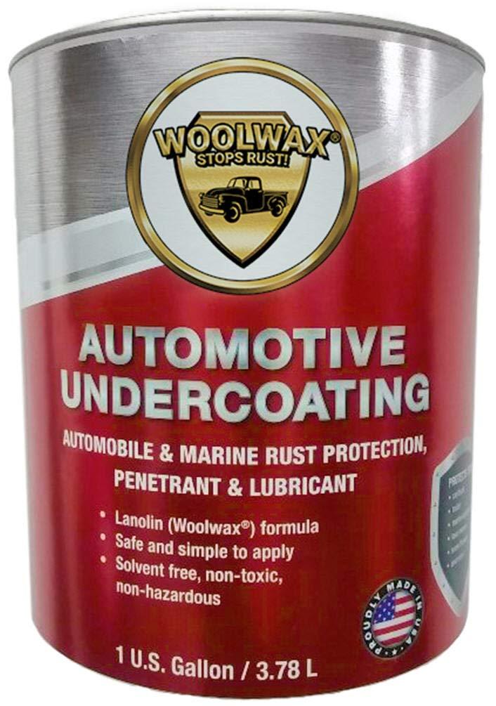 woolwax Auto/Truck Lanolin Undercoating 1 Gallon Pail. Black Color.