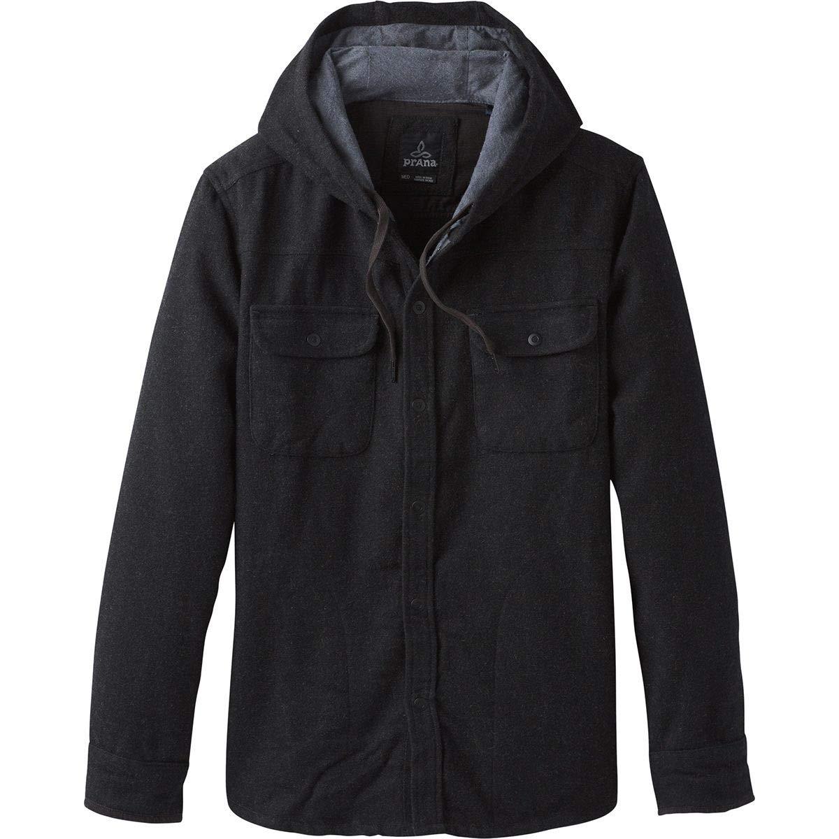 prAna Bolster Ls Hooded Flannel