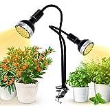 300W LED Grow Light, Kolem Plant Light for Indoor Plants, Dimmable, 2 Grow Light Bulbs, Sunlight Full Spectrum Plant…