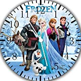"Best IkEA clock - Disney Frozen Wall Clock 10"" Will Be Nice Review"